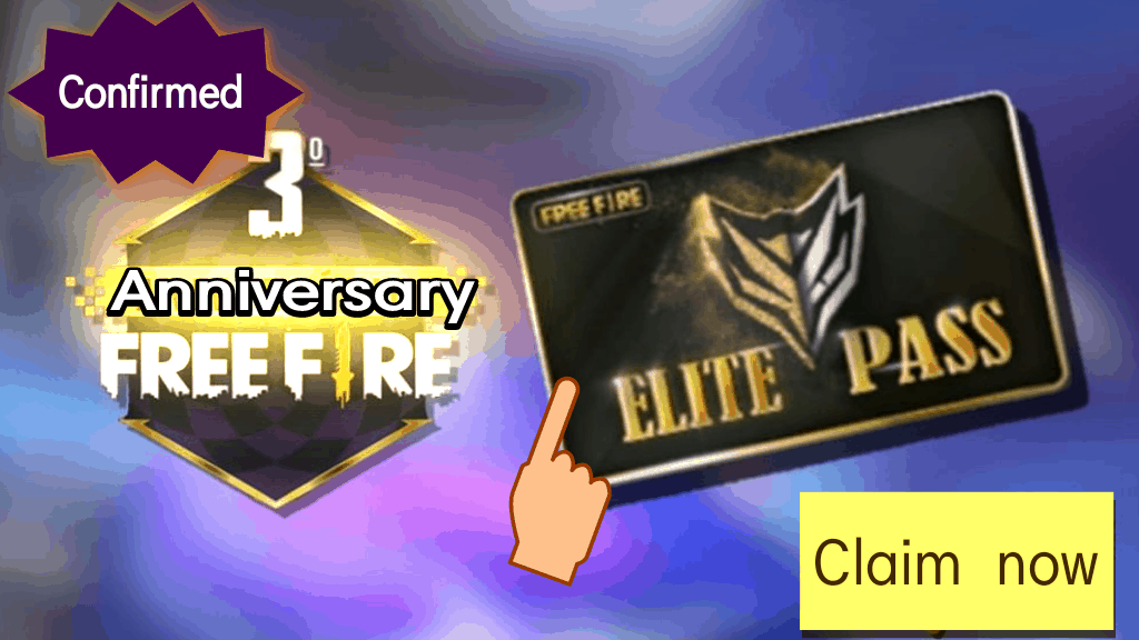 Confirmed Free Elite Pass By Officials Of Free Fire